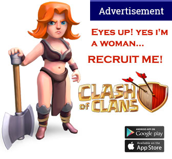 Clash of Clans - recruiting teams on mobile devices